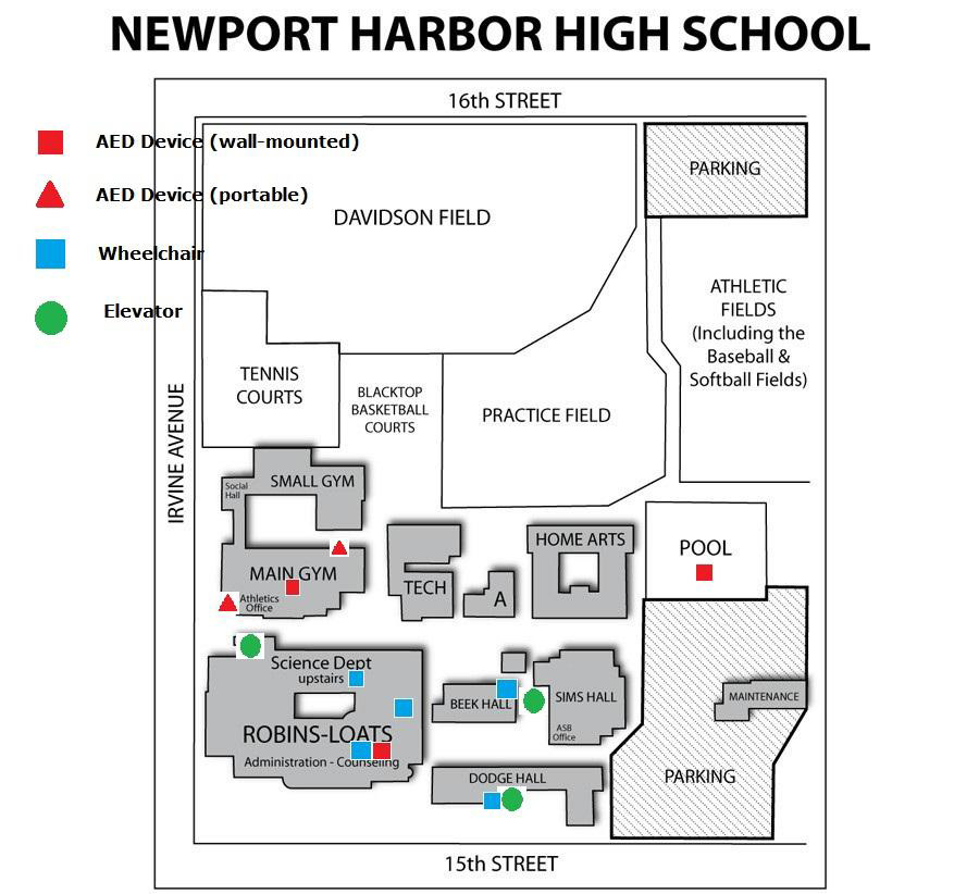 Campus Safety Map