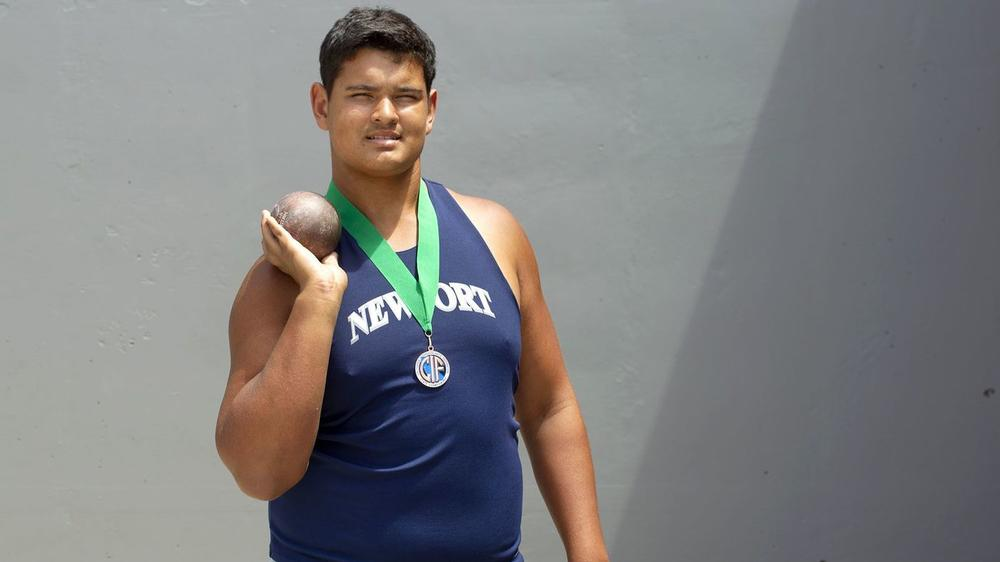 Shot Putter at NHHS