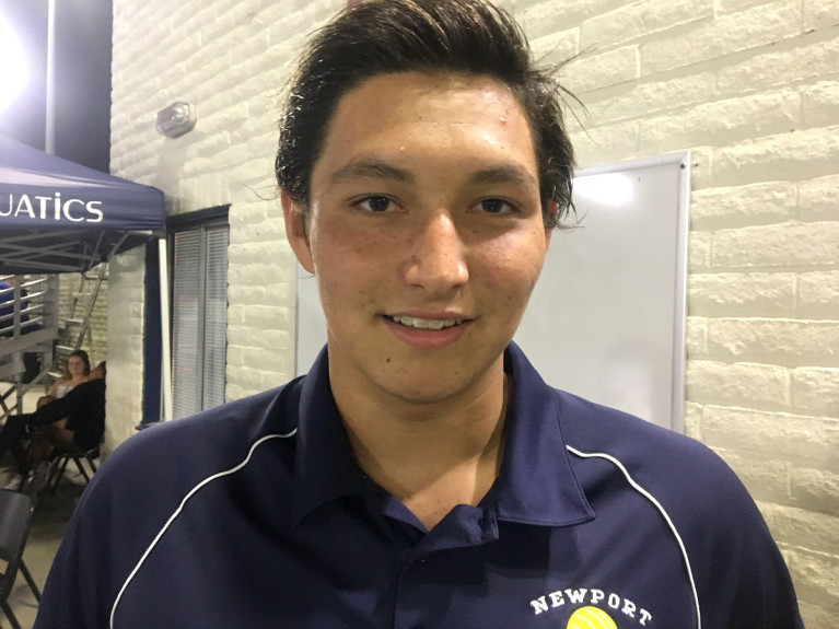 Kenny-boys water polo OC Register Athlete of the Week
